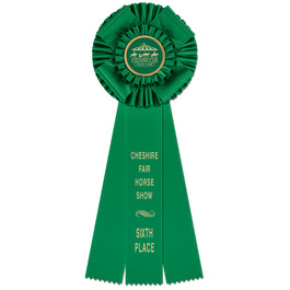 Langport Horse Show Rosette Award Ribbon