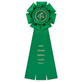Peerless Horse Show Rosette Award Ribbon