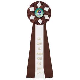 Exeter Horse Show Rosette Award Ribbon