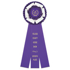 Dutchess Horse Show Rosette Award Ribbon