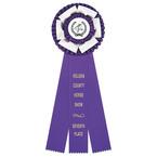 Dutchess Horse Show Rosette Award Ribbon