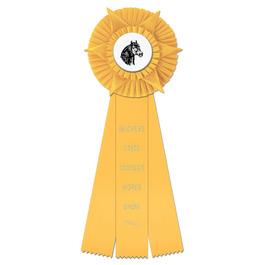 Hampshire Horse Show Rosette Award Ribbon