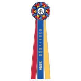 Kennet Horse Show Rosette Award Ribbon