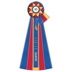 Guernsey Horse Show Rosette Award Ribbon