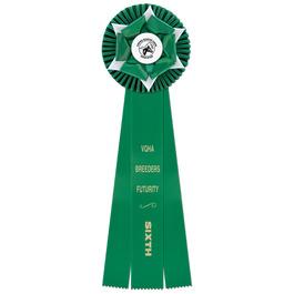 Wheaton Horse Show Rosette Award Ribbon