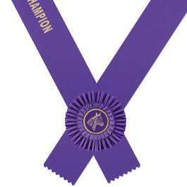 Shannon Custom Rider's Horse Show Award Sash