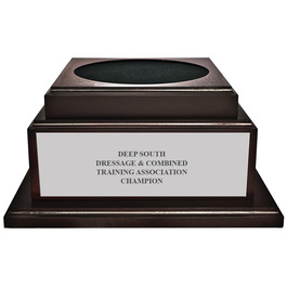 Large Cherry Horse Show Championship Trophy Base