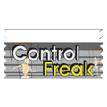Stock Control Freak Ice-Breaker Ribbon