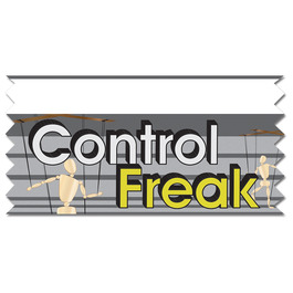 Control Freak Ice-Breaker Ribbon