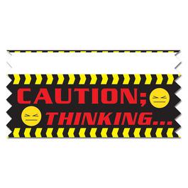 Caution: Thinking…Ice-Breaker Ribbon