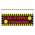 Stock Caution: Thinking…Ice-Breaker Ribbon