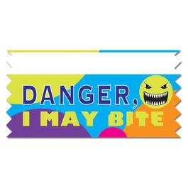 Stock Danger, May Bite Ice-Breaker Ribbon