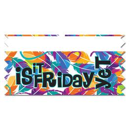 Is It Friday Yet Ice-Breaker Ribbon