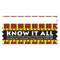 Stock Know It All Ice-Breaker Ribbon