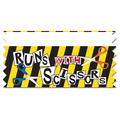Runs With Scissors Ice-Breaker Ribbon