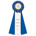 Ideal 3W Rosette Award Ribbon