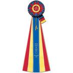 Jersey Rosette Award Ribbon