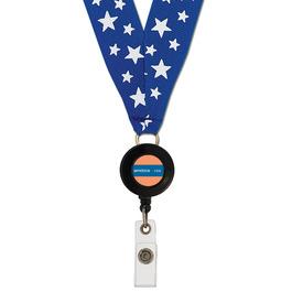 Grosgrain Lanyard w/ ID Badge Reel