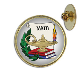 Math Lapel Pin