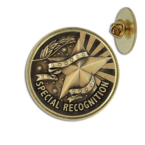 Special Recognition Lapel Pin From Hodges Badge Company