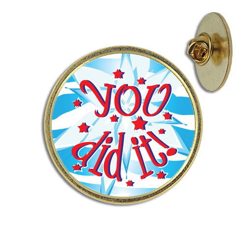 You Did It Lapel Pin From Hodges Badge Company