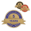 Stock Anniversary Lapel Pins
