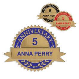 Custom Anniversary Lapel Pins
