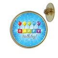 Happy Birthday Lapel Pin