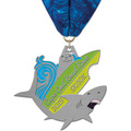 HH Marathon, 5K and 10K Award Medal w/ Millennium Neck Ribbon