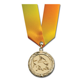 MC Medal w/ Specialty Satin Neck Ribbon