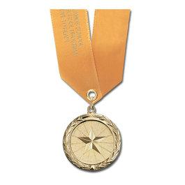 MC School Award Medal w/ Satin Neck Ribbon