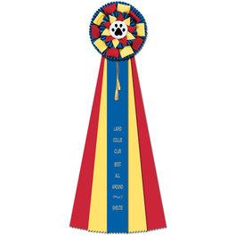 Newton Rosette Award Ribbon