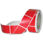 Roll of Red Stickers