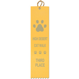 Square Top Cat Show Ribbon