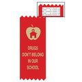 Drugs Don't Belong Red Ribbon