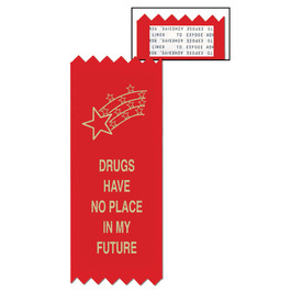 Drugs Have No Place Red Ribbon