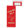 Stock Stamp Out Smoking Red Ribbon