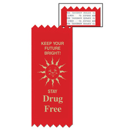 Keep Your Future Bright Red Ribbon