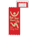 Stock Run Your Own Life Red Ribbon