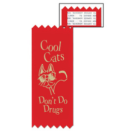 Stock Cool Cats Red Ribbon