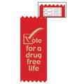 Vote For a Drug Free Life Red Ribbon