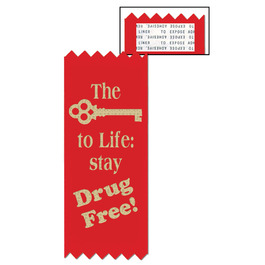 The Key to Life Red Ribbon