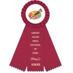 Mere Rosette Award Ribbon