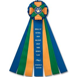 Birkdale Cat Show Rosette Award Ribbon