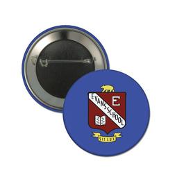 """3"""" Button w/ Pin"""