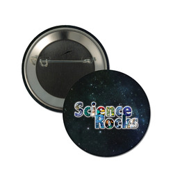 Science Rocks Button