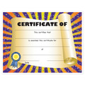 Full Color Stock School Certificates - Scroll Design