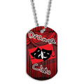 Full Color Drama Club Dog Tag