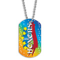 Full Color Honors Dog Tag