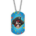 Full Color  Pirate Dog Tag